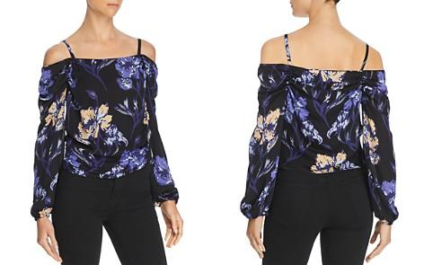 Ramy Brook Floral-Printed Cold-Shoulder Silk Top - Bloomingdale's_2