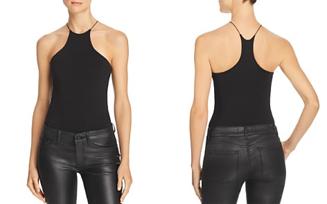 T by Alexander Wang High-Neck Jersey Bodysuit - Bloomingdale's_2