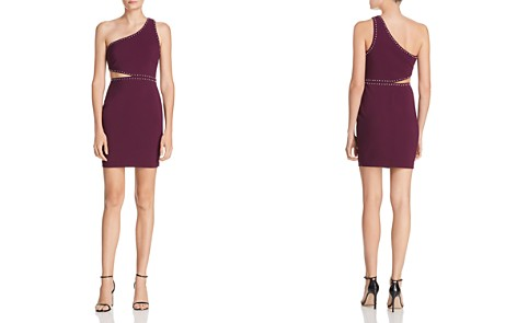 LIKELY Portia Studded One-Shoulder Cutout Dress - Bloomingdale's_2
