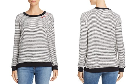 Vintage Havana NY LA Striped Sweater - Bloomingdale's_2