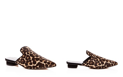 Rebecca Minkoff Women's Chamille Too Leopard Print Calf Hair Mules - Bloomingdale's_2