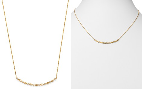 Bloomingdale's Diamond Milgrain Bar Necklace in 14K Yellow Gold, 0.20 ct. t.w. - 100% Exclusive_2