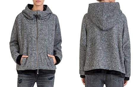 The Kooples Reversible Fleece & Velvet Sweatshirt - Bloomingdale's_2
