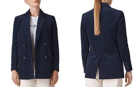 Whistles Corduroy Double-Breasted Blazer - Bloomingdale's_2