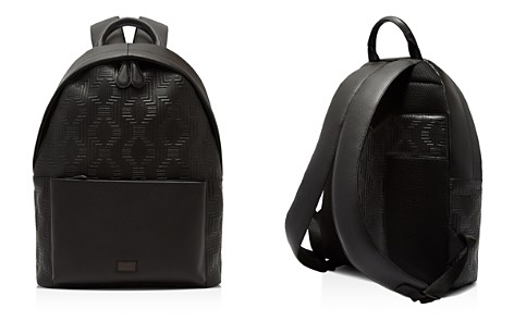 Ted Baker Floorow Embossed Leather Rucksack - Bloomingdale's_2