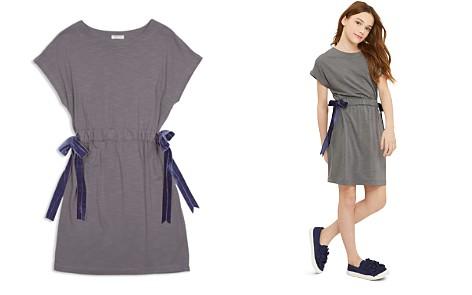 Habitual Girls' Violet Shirt Dress with Velvet Bows - Little Kid, Big Kid - Bloomingdale's_2