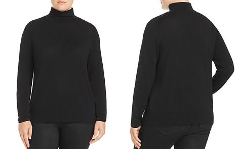 Lafayette 148 New York Plus Modern Mock Neck Sweater - Bloomingdale's_2