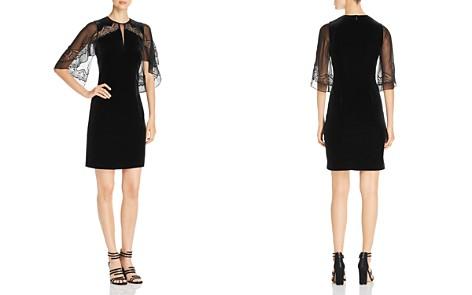 Elie Tahari Essence Velvet Lace Dress - Bloomingdale's_2