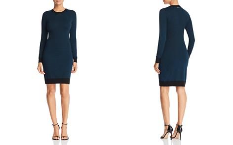 MICHAEL Michael Kors Bandana Print Sweater Dress - Bloomingdale's_2