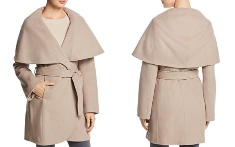 T Tahari Marla Oversized Shawl Collar Coat - Bloomingdale's_2
