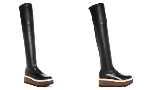 Clergerie Women's Basilia Leather Over-the-Knee Wedge Platform Boots - Bloomingdale's_2