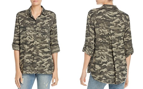 BeachLunchLounge Camo Print Blouse - Bloomingdale's_2