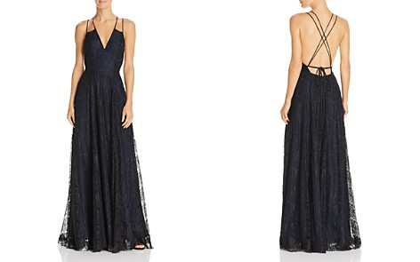 Fame and Partners Austin Lace Gown - Bloomingdale's_2