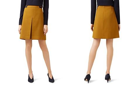 HOBBS LONDON Celia Velvet-Trim Skirt - 100% Exclusive - Bloomingdale's_2