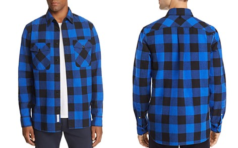 rag & bone Principle Plaid Denim Shirt Jacket - 100% Exclusive - Bloomingdale's_2