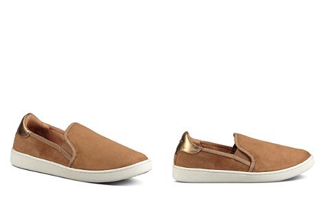 UGG® Women's Cas Leather Slip On Sneakers - Bloomingdale's_2