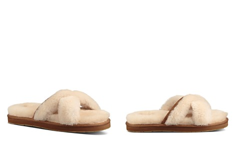 UGG® Women's Abela Open Toe Sheepskin Slide Sandals - Bloomingdale's_2