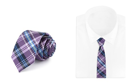 Bloomingdale's Boys Plaid Tie - 100% Exclusive_2