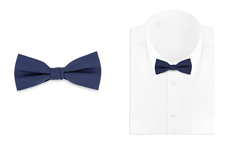 Bloomingdale's Boys Satin Bow Tie - 100% Exclusive_2