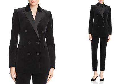 Theory Velvet Tuxedo Jacket - Bloomingdale's_2