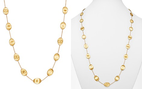"""Marco Bicego 18K Yellow Gold Lunaria Station Necklace, 36"""" - Bloomingdale's_2"""