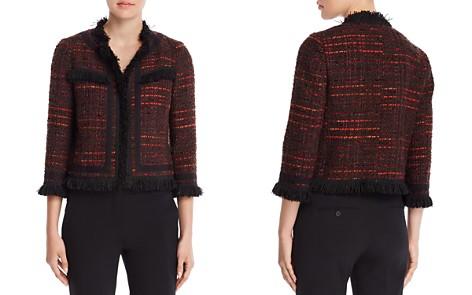 kate spade new york Metallic Tweed Jacket - Bloomingdale's_2