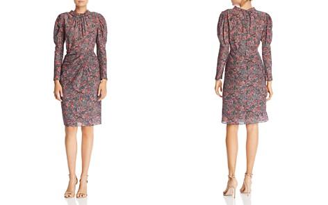 Rebecca Taylor Paisley Puff-Sleeve Dress - Bloomingdale's_2