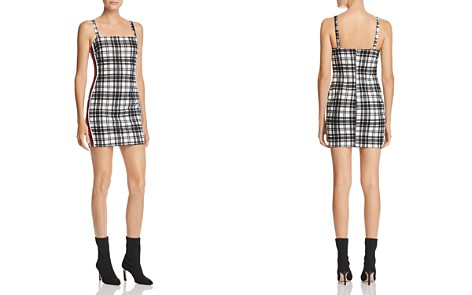 Sunset & Spring Plaid Side Stripe Mini Dress - Bloomingdale's_2