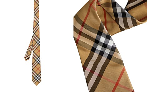 Burberry Maston Checked Silk Skinny Tie - Bloomingdale's_2