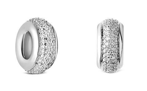 Links of London Sterling Silver Sweetie Pavé Diamond Bead - Bloomingdale's_2