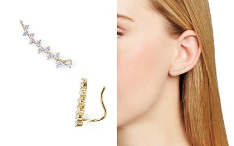 Nadri Aura Single Pavé Ear Crawler Earring - Bloomingdale's_2