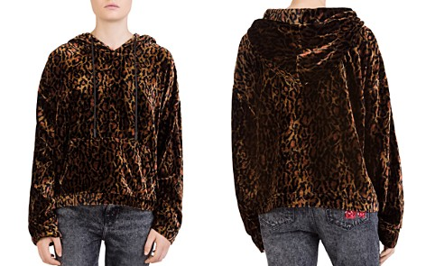 The Kooples Leopard-Print Velvet Sweatshirt - Bloomingdale's_2