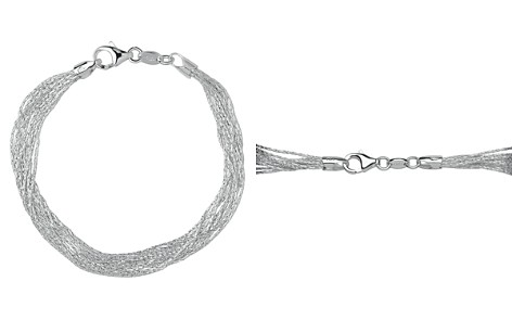 Links of London Sterling Silver Essential 10-Strand Bracelet - Bloomingdale's_2