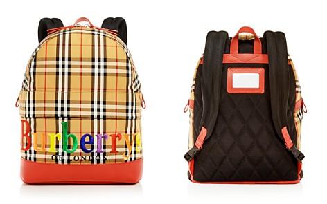 Burberry Girls' Nico Vintage Check Logo Backpack - Bloomingdale's_2