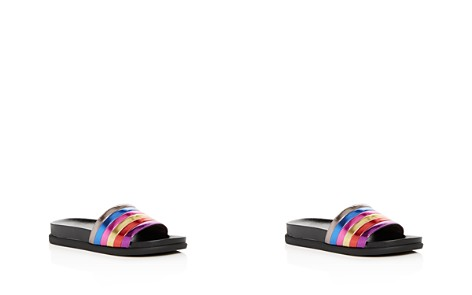 STEVE MADDEN Girls' Cambi Rainbow Pool Slide Sandals - Little Kid, Big Kid - Bloomingdale's_2