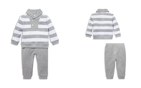Ralph Lauren Boys' Rugby Shawl-Collar Striped Sweater & Pants Set - Baby - Bloomingdale's_2