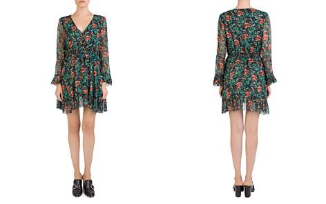 The Kooples Silk Poppy Field Dress - Bloomingdale's_2