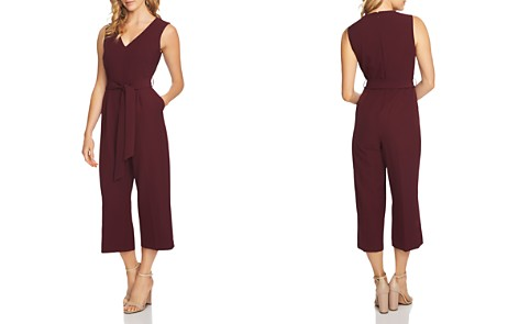 VINCE CAMUTO Belted Crop Jumpsuit - Bloomingdale's_2