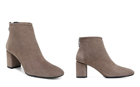 Via Spiga Women's Noel Suede Block Heel Booties - 100% Exclusive - Bloomingdale's_2