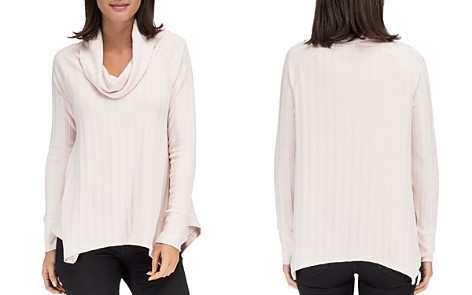 B Collection by Bobeau Lana Cowl Neck Ribbed Top - Bloomingdale's_2