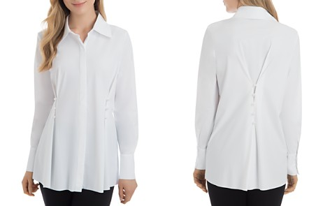 Lyssé Faux-Pearl-Trim Tunic Shirt - Bloomingdale's_2