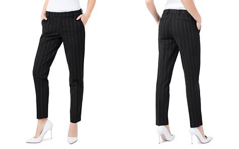 Liverpool Pinstripe Slim Pants - Bloomingdale's_2