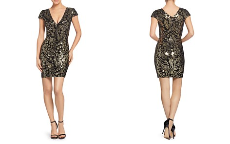 Dress - 100% Exclusive the Population Zoe Sequined Mini Dress - 100% Exclusive - Bloomingdale's_2