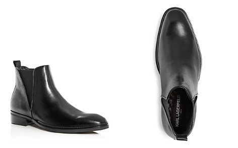 KARL LAGERFELD Paris Men's Leather Chelsea Boots - Bloomingdale's_2