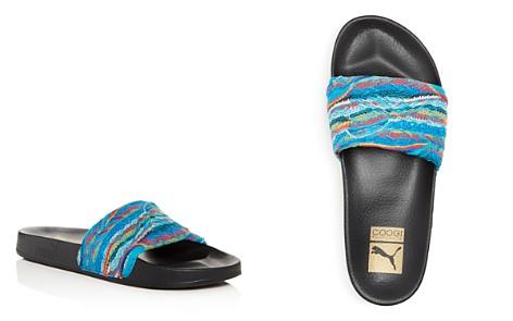 PUMA x Coogi Men's Leadcat Knit Slide Sandals - Bloomingdale's_2