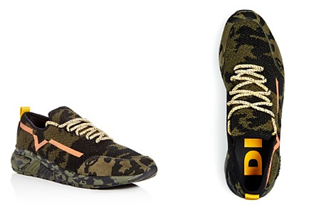 Diesel S-KBY Men's Camo Print Knit Lace Up Sneakers - Bloomingdale's_2