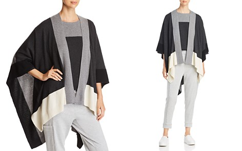 Eileen Fisher Color Block Serape - Bloomingdale's_2