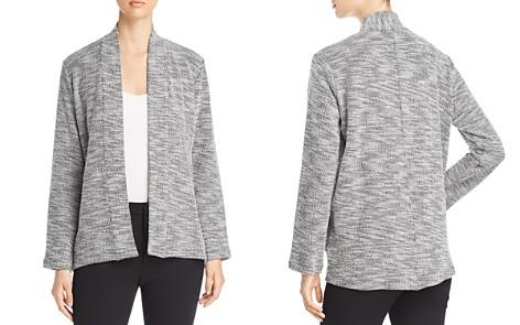 Eileen Fisher Marled Open Jacket - Bloomingdale's_2
