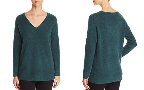 Eileen Fisher Petites Merino Wool Drop Shoulder Sweater - Bloomingdale's_2