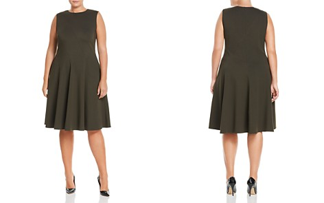 Lafayette 148 New York Plus Topenga Fit-and-Flare Dress - Bloomingdale's_2